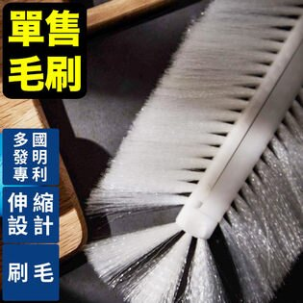 完美主義居家生活館:清潔打掃刷具專利伸縮脫水易利刷-刷毛MIT台灣製完美主義【Z0036】