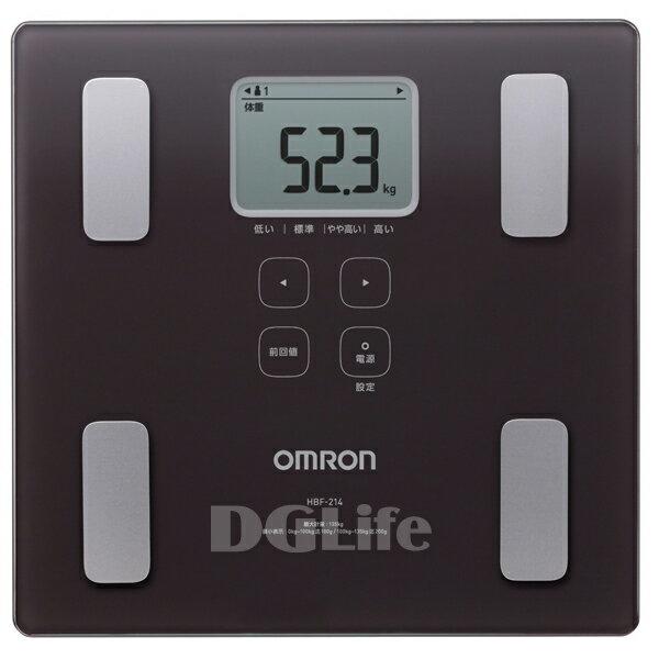 HBF-214  Omron 歐姆龍體重體脂肪計 褐色 HBF214 限時優惠!!