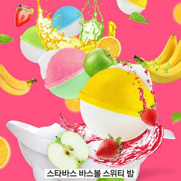 韓國STARBATH碳酸沐浴球(100g)【庫奇小舖】