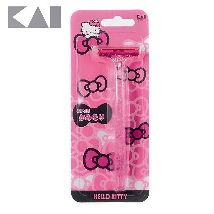 【貝印KAI】Hello Kitty 修毛刀(PPT-1SKT)
