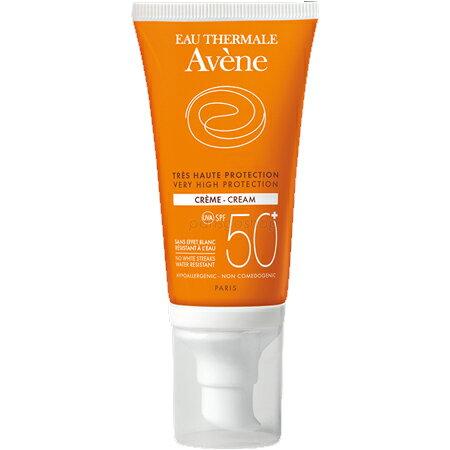 Avene 雅漾 全效極護低敏防曬乳 SPF50+ 50ML 有淡香 法國版 法國代購 【巴黎好購】