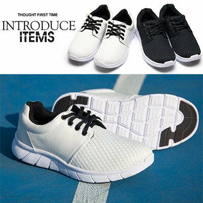 慢跑鞋ManStyle潮流嚴選MIT台灣製女鞋飛梭編織感慢跑鞋【01S1165】