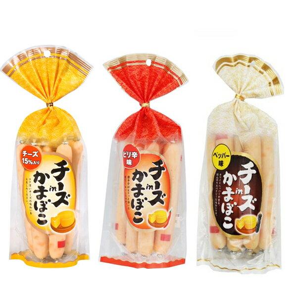 【豆嫂】日本零食 起司魚板條 原味/辣味/黑胡椒(一包8條入)