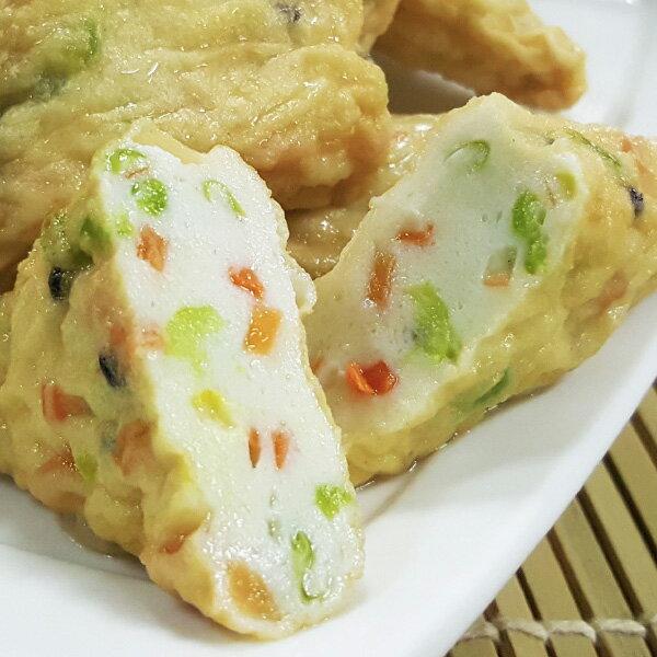 『野菜三角豆腐』 純鱈魚漿製 驚豔嫩豆腐口感 x 新鮮蔬菜 意想不到的田園美味!!