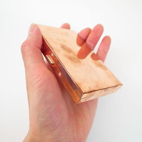 黃銅名片盒(玫瑰雅金)
