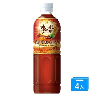 麥香阿薩姆紅茶600ml*4【愛買】
