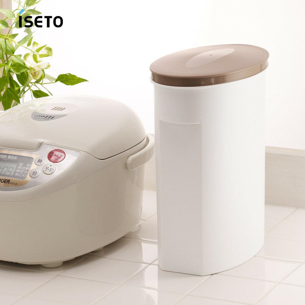 日本ISETO 不透光雜糧保鮮儲米桶-5kg