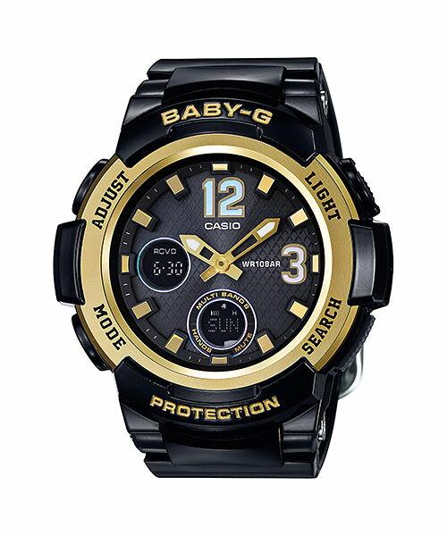 國外代購 CASIO BGA-2100-1BJF 日版限定 高規格電波太陽能錶 女錶 手錶 腕表 情侶錶 黑金