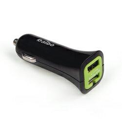 迪特軍3C:【迪特軍3C】aiboAB231迷你雙USB車用充電器-3100mA(IP-C-AB231)