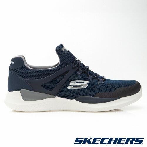 SKECHERS (男) MATRIXX 運動系列  /  藍 - 52664NVGY 1