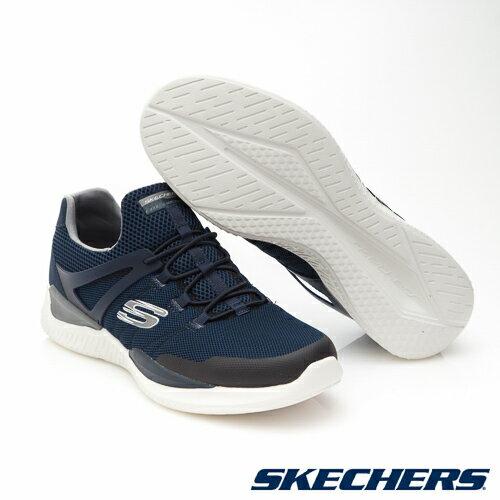 SKECHERS (男) MATRIXX 運動系列  /  藍 - 52664NVGY 2