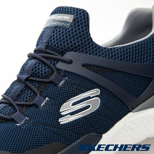 SKECHERS (男) MATRIXX 運動系列  /  藍 - 52664NVGY 3