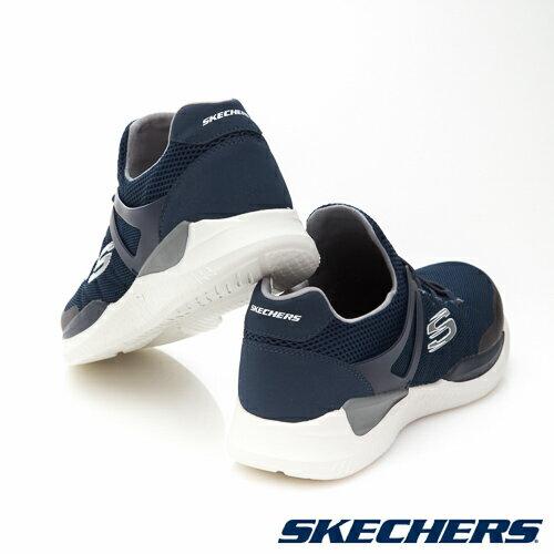 SKECHERS (男) MATRIXX 運動系列  /  藍 - 52664NVGY 5