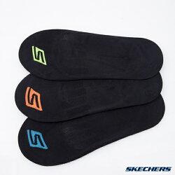 SKECHERS(男) 運動隱形襪 一組三雙  - S101599-001