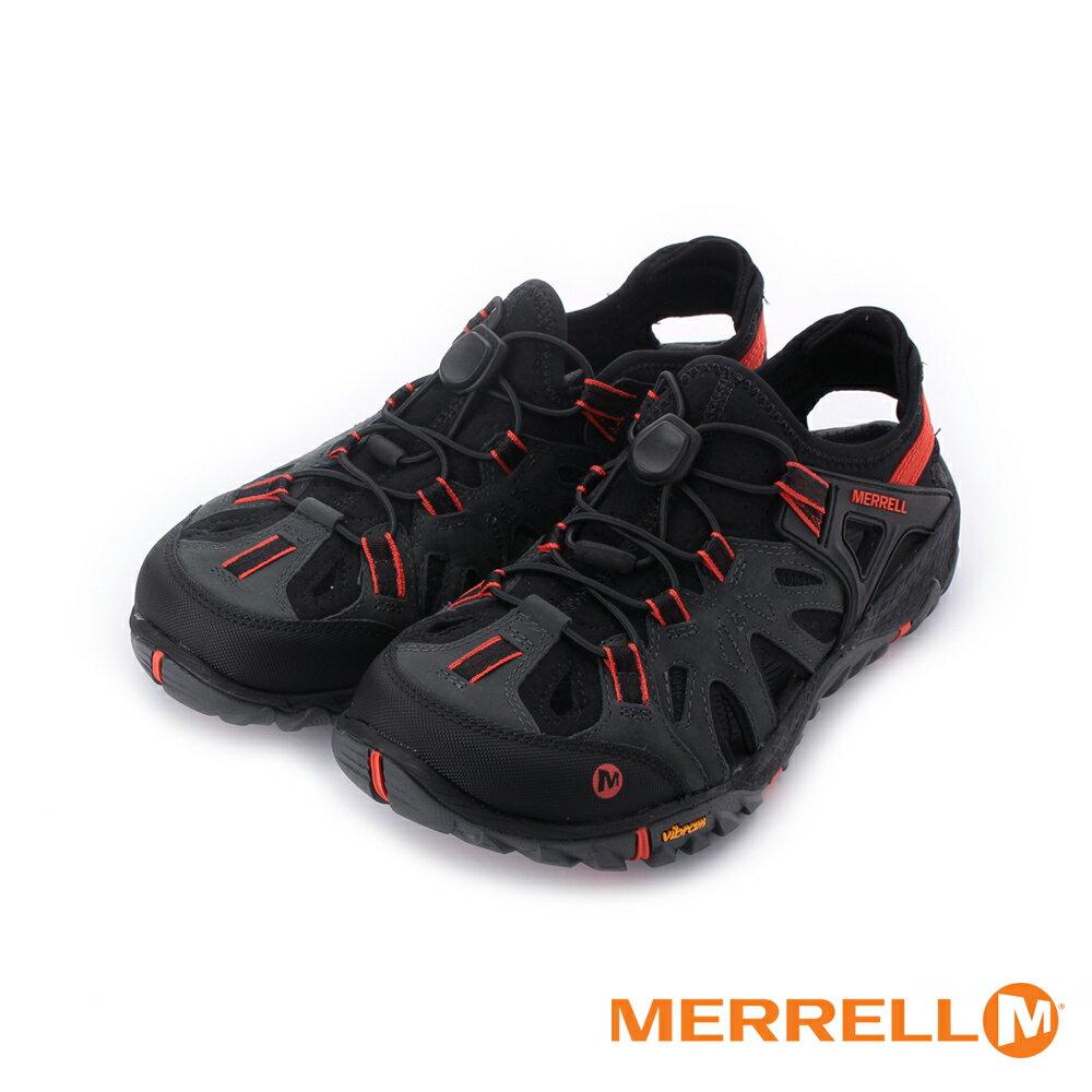 MERRELL ALL OUT BLAZE SIEVE水陸兩棲運動鞋 Vibram黃金大底 黑/紅 ML12647 男鞋