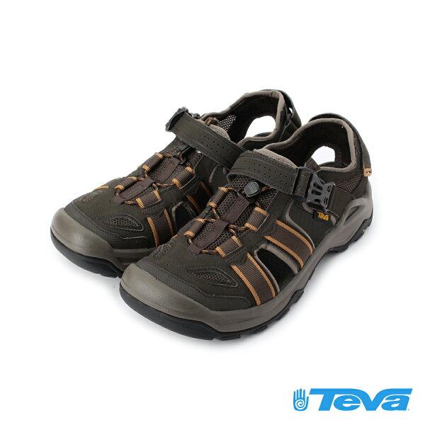 【TEVA促銷9折】Omnium2護趾水陸機能涼鞋橄欖綠TV1019180BLKO男鞋