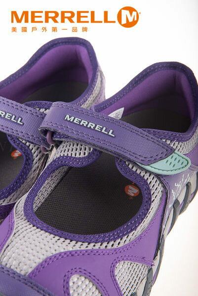 MERRELL CAPRA RAPID 多功能涼鞋 深紫 水陸兩棲│三棲運動│健行鞋│休閒鞋 9