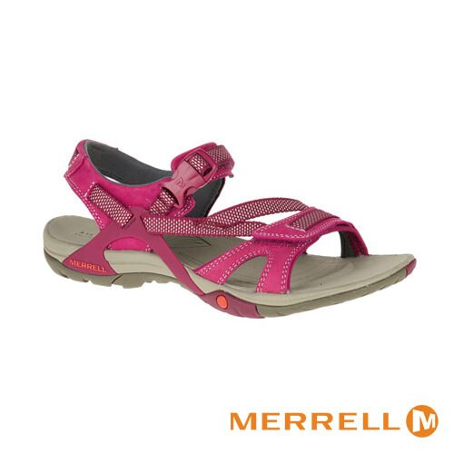 MERRELL AZURA STRAP 多功能涼鞋 粉紅 健行│休閒 0