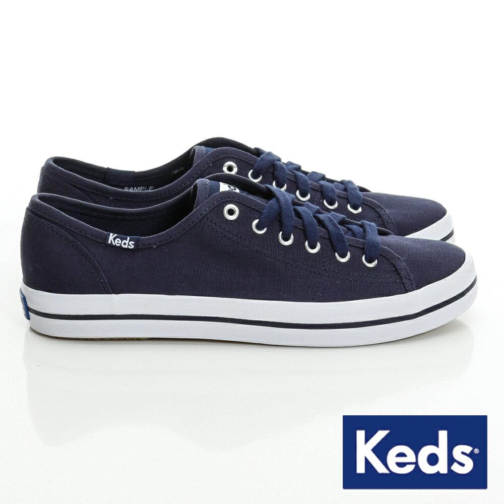 【領券滿1200再折120】KEDS 帆布休閒鞋 KICKSTART系列 / 海軍藍