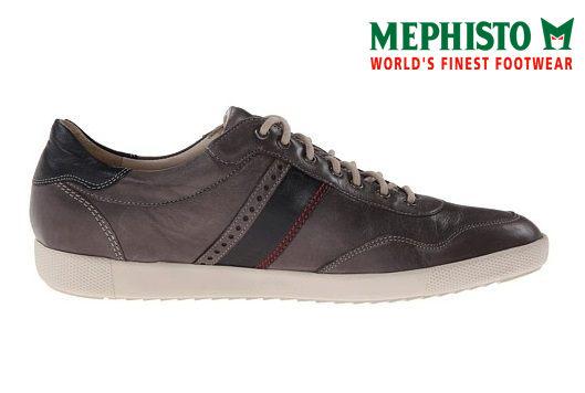 【Mephisto 6折 │全店免運】Mephisto 法國工藝皮革休閒鞋 墨綠 1