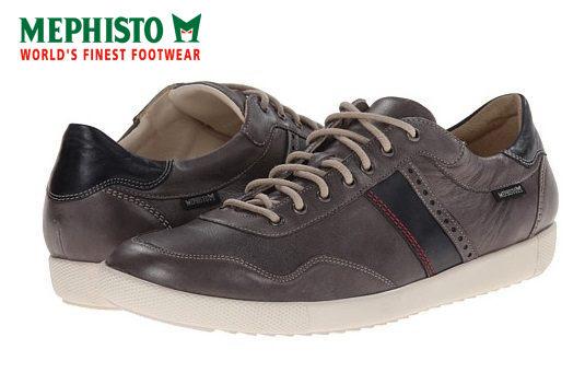 【Mephisto 6折 │全店免運】Mephisto 法國工藝皮革休閒鞋 墨綠 0