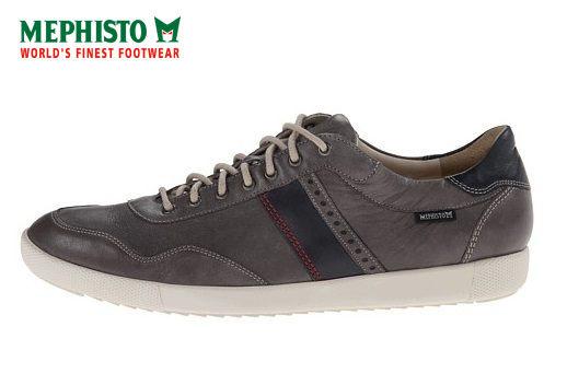 【Mephisto 6折 │全店免運】Mephisto 法國工藝皮革休閒鞋 墨綠 2