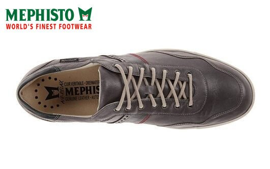 【Mephisto 6折 │全店免運】Mephisto 法國工藝皮革休閒鞋 墨綠 3