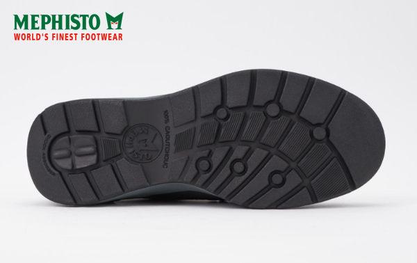 【全店點數15倍送】Mephisto 法國工藝皮革綁帶休閒鞋 黑 4