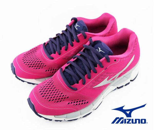 Mizuno 美津濃 休閒款女慢跑鞋 運動鞋 粉紅 2