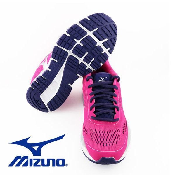 Mizuno 美津濃 休閒款女慢跑鞋 運動鞋 粉紅 3