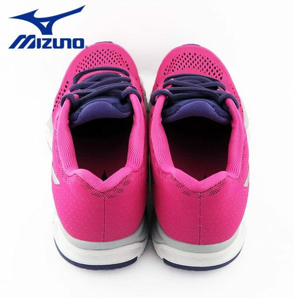 Mizuno 美津濃 休閒款女慢跑鞋 運動鞋 粉紅 4