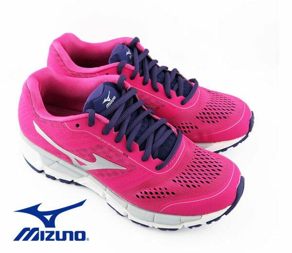 Mizuno 美津濃 休閒款女慢跑鞋 運動鞋 粉紅 5