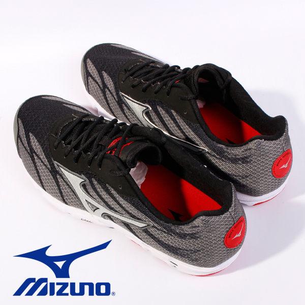 Mizuno 男路跑鞋 WAVE HITOGAMI 3 黑 2
