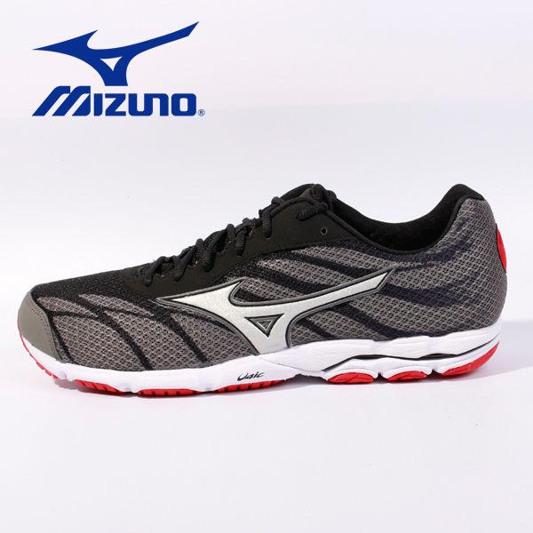 【全店點數15倍送】MIZUNO 男路跑鞋 WAVE HITOGAMI 3 黑 休閒鞋│運動鞋│健走鞋 J1GA168005