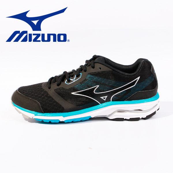Mizuno 休閒慢跑鞋 男 藍黑 1