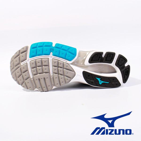 Mizuno 休閒慢跑鞋 男 藍黑 6