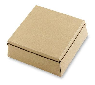 [微型創業特輯]牛皮紙空白盒6號附50CM咖啡彈性繩10入