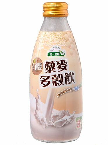 統一生機 有機藜麥多穀飲(箱)245g*24瓶
