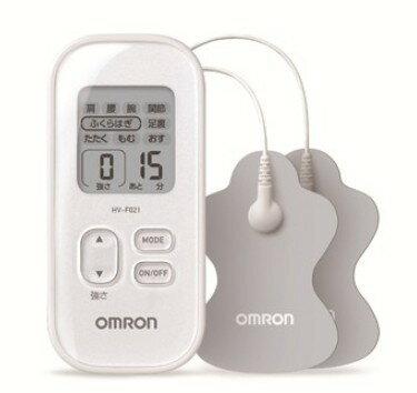 (詢問優惠)omron歐姆龍 低週波治療器HV-F021低週波電療器 低週波 白色 HVF021 電療器