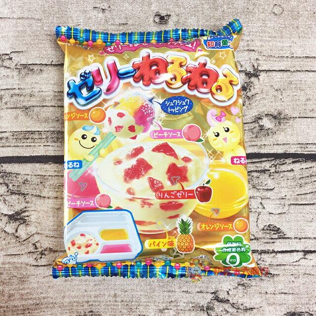 【0216零食會社】日本食玩 Kracie 知育果子創意DIY幕斯點心達人22g