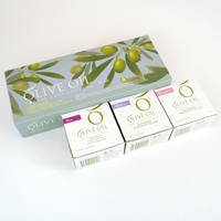 Olive Oil♪初榨橄欖手工皂三入特惠禮盒組