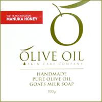 Olive Oil♪麥奴卡蜂蜜初榨橄欖手工皂