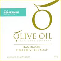 Olive Oil♪胡椒薄荷初榨橄欖手工皂