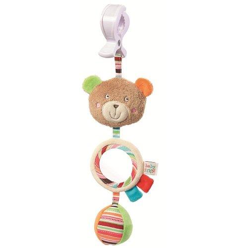 babyFEHN 芬恩 - 奧斯卡小熊吊掛式布偶玩具 0