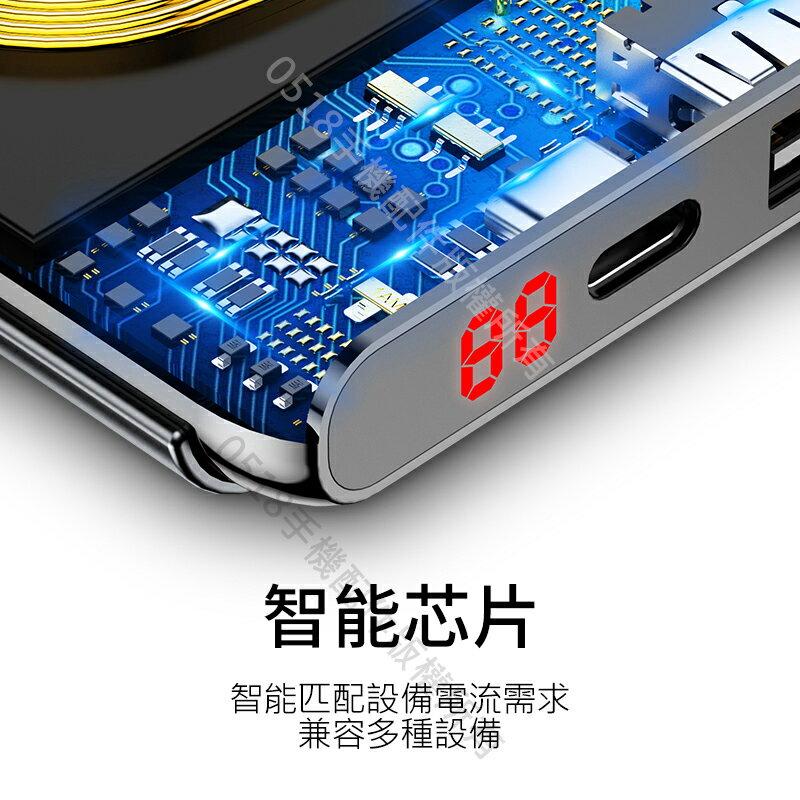 Baseus倍思 橫豎雙線圈支架款無線充行動電源 10000mAh 手機支架 雙向快充 PD+QC3.0 4