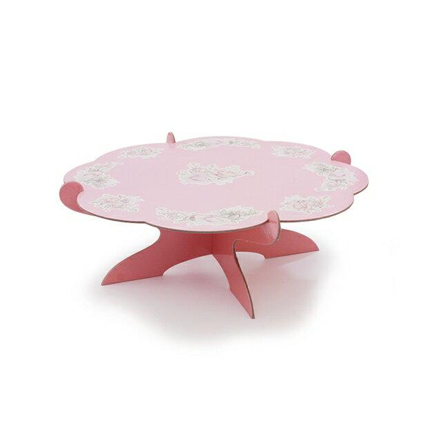 【嚴選SHOP】古典玫瑰蛋糕座 單層蛋糕座 派對架 蛋糕喜糖座 置物架 下午茶蛋糕座 蛋糕架 婚禮小物派對架【K182】
