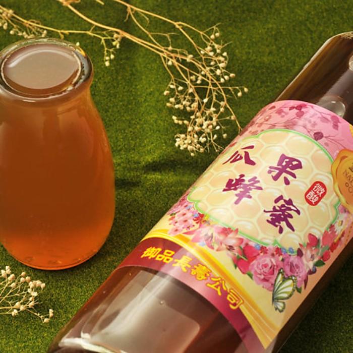 御品長壽養蜂場【瓜果蜂蜜】大自然蜂蜜*1罐/ 800g±3% /100%純蜂蜜/養生