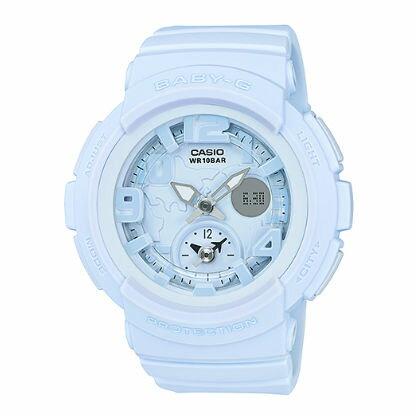 【錶飾精品】現貨卡西歐CASIO Baby-G海灘旅行系列BGA-190BC-2B-粉藍 霧面蠟筆質感 全新原廠正品