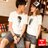 ◆快速出貨◆T恤.情侶裝.班服.MIT台灣製.獨家配對情侶裝.客製化.純棉短T.女花冠+男捧花求婚娃娃【YC219】可單買.艾咪E舖 0