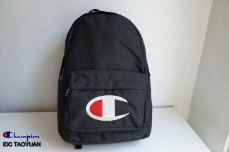 ►法西歐 桃園◄ Champion Logo Backpack 日版 尼龍 電繡 Logo 後背包 白 深藍 黑色 三色 黑色